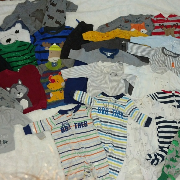 Carter's Other - HUGE baby boy lot, 85 pieces